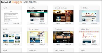 Template Blog Premium Terbaik