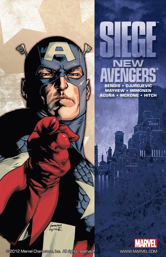 siege new avengers marvel comics brian michael bendis stuart immonen