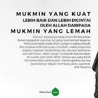 kata mutiara islam tentang seorang mukmin