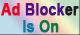 AD BLOCKER IS ON