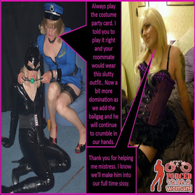 Making him into out full time sissy - World TG Captions