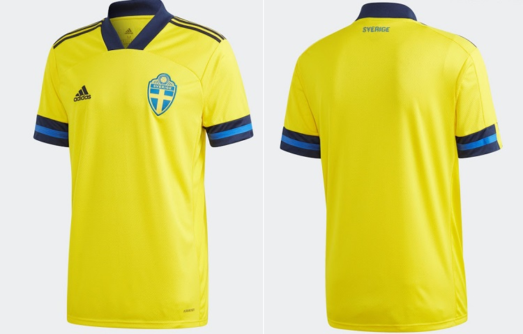 Sweden Euro 2020 Kits Home leaked