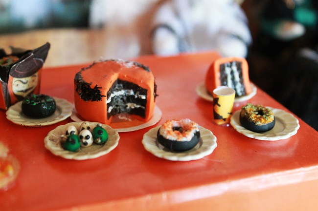 halloween dollhouse miniature foods
