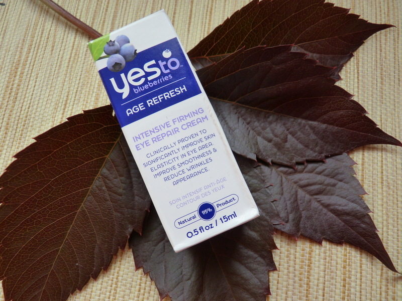 YES to Blueberries Intensive Firming Eye Repair Cream