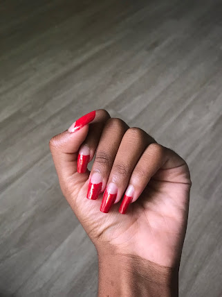 Getting your nails done every two weeks can be very costly; One manicure usually costs about 45 dollars. Multiply that by 12 months, that's a total of 540 dollars you spend every year. Imagine how much money you could save by just learning to do your nails yourself. In this article, I'm going to show you how to get Dita Von Teese's famous moon nail manicure for under 10 dollars!