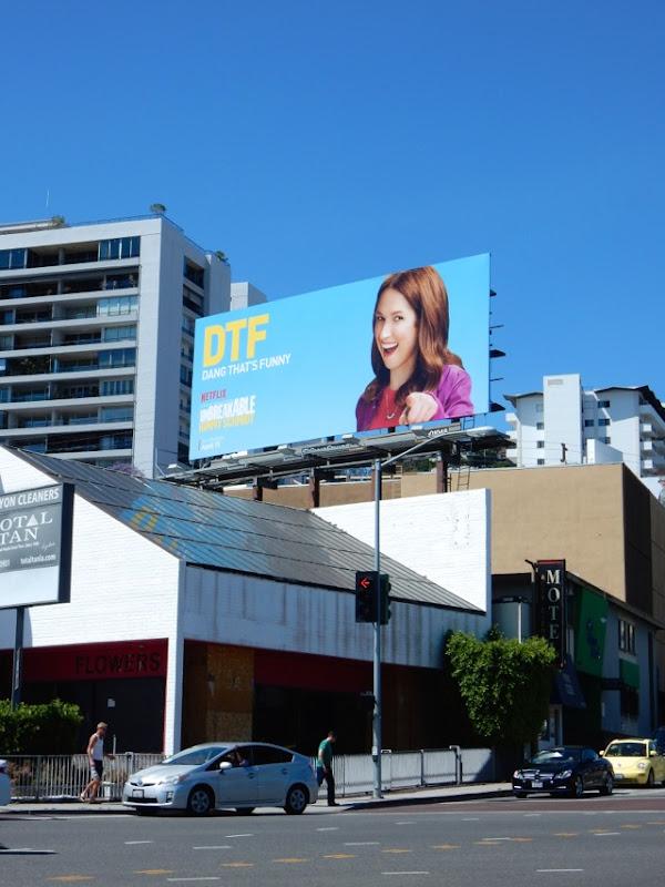 Unbreakable Kimmy Schmidt season 2 DTF billboard