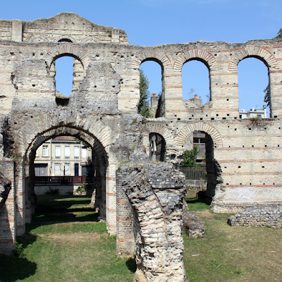 Palais Gallien, ruins of a roman amphitheater.
