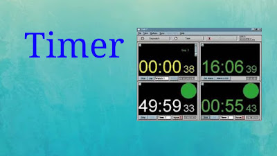 Personal computer timer image