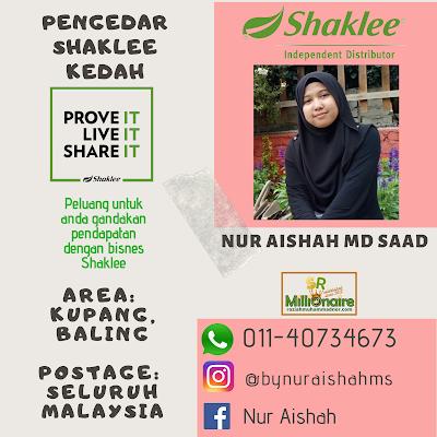 Pengedar Shaklee Baling Kedah