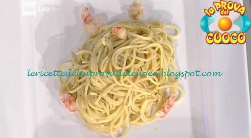 Spaghetti aglio olio e peperoncino con gamberi rossi ricetta Pascucci da Prova del Cuoco