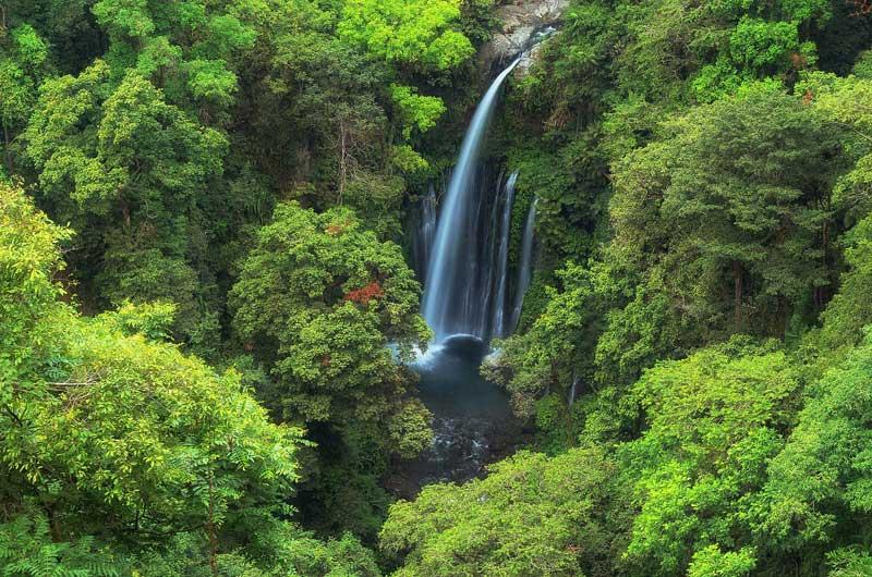 Rute Lokasi Air Terjun Tiu Kelep Waterfalls