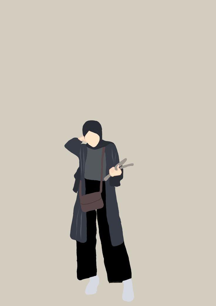 Yuk, ganti dengan gambar profil keren dari jaka ini,. Gambar Pp Whatsapp Hijab Aesthetic Kartun Hd Download Hallyuid