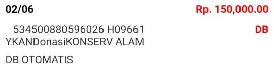 Donasi Juni 2021 Android31 PPOB STORE dan Bad Rabbit Merch