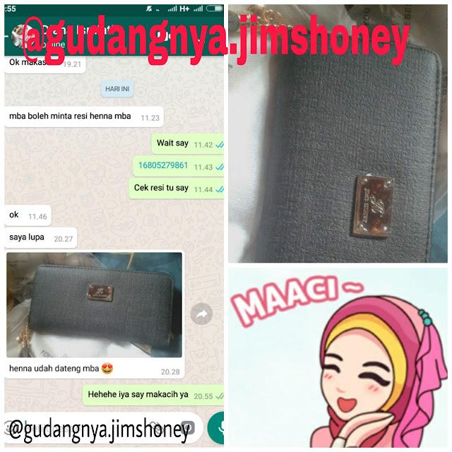 Testimoni Dompet Jimshoney Henna Wallet