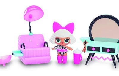 Лол Сюрприз кукла Дива и новая мебель для домика L.O.L. Surprise Furniture