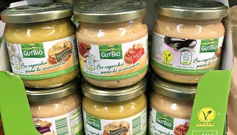 Pasty kanapkowe, GutBio