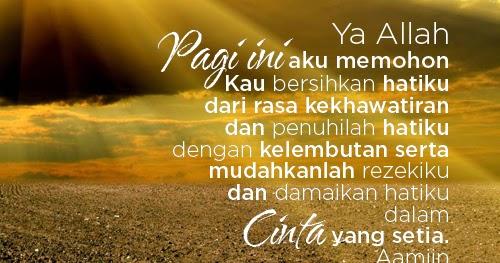 Dp Doa Pagi Islami Contoh Soal Dan Materi Pelajaran 1