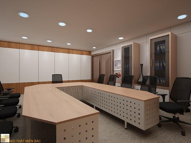 Sở hữu kiểu dáng thiết kế bàn phòng họp cao cấp hình chữ U chuyên nghiệp những mẫu bàn này luôn mang đến cho không gian văn phòng sự chuyên nghiệp