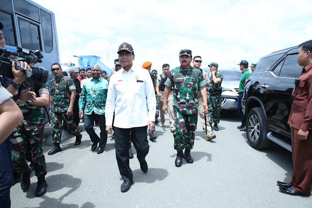 Pasca Rusuh, Petinggi Militer Kunjungi Papua