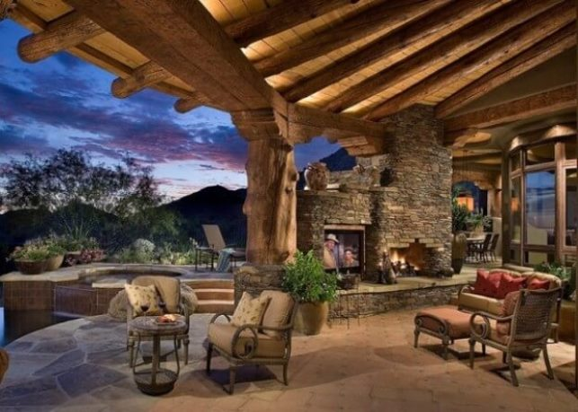 This Is An Excellent Outdoor Fireplace Choice When A Sturdy Year Round Outdoor  Fireplace Presence Is Desired, Such As Permanent Architecture Around The ...