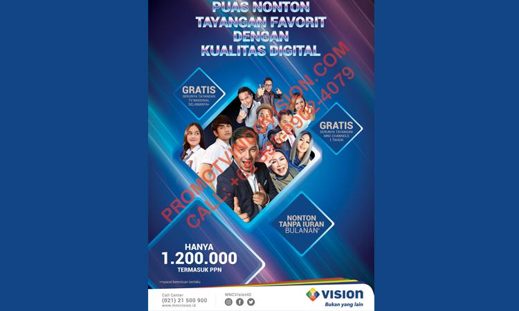 PROMO TERBARU TV Kabel Beli Putus MNC Vision 2019