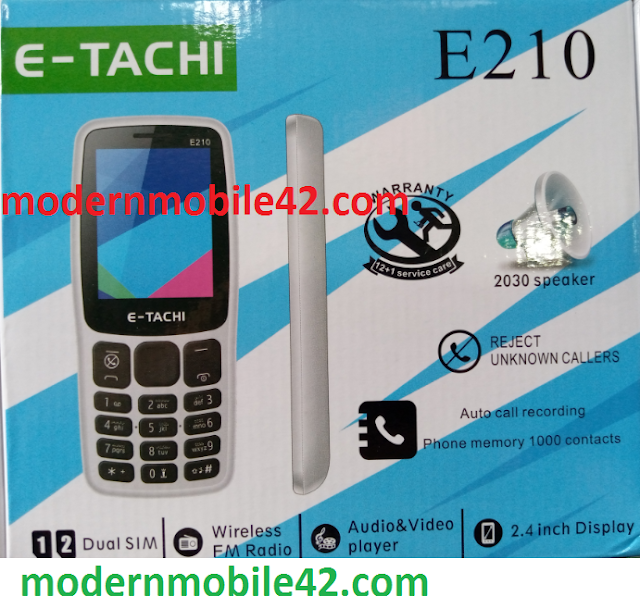 e tachi e210 flash file
