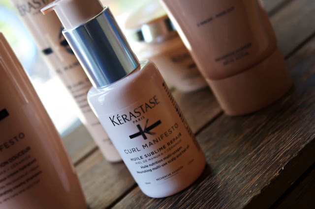 Kerastase Curl Manifesto Haircare Collection Review, photos, Swatches