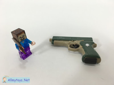 Small pistol toy gun