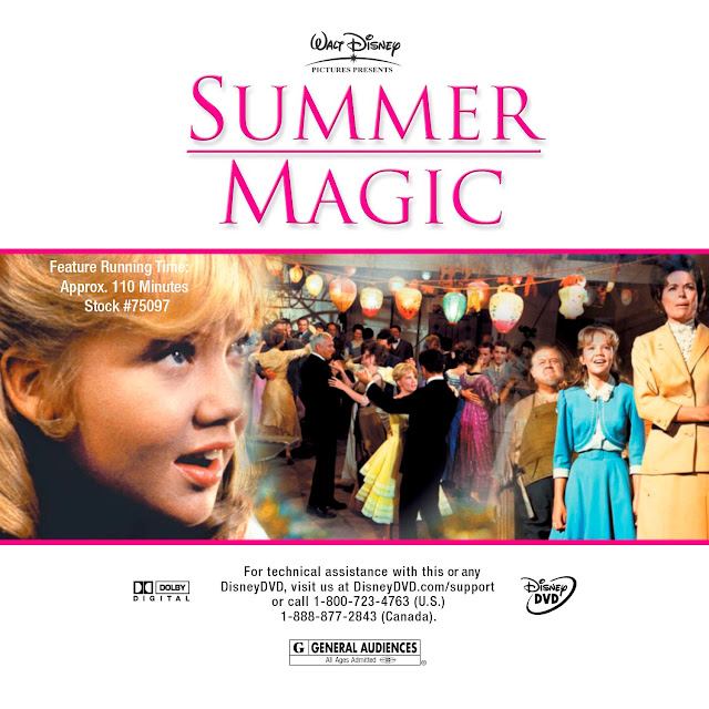 Summer Magic (1963) DVD Label