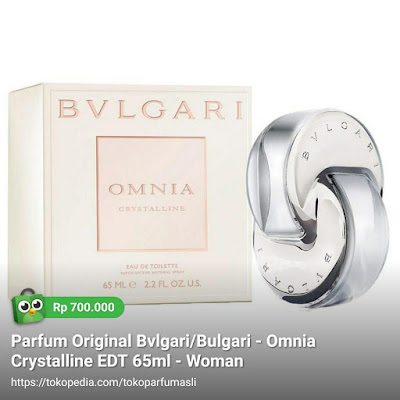 toko parfum asli parfum original bvlgari bulgari omnia crystalline edt 65ml woman