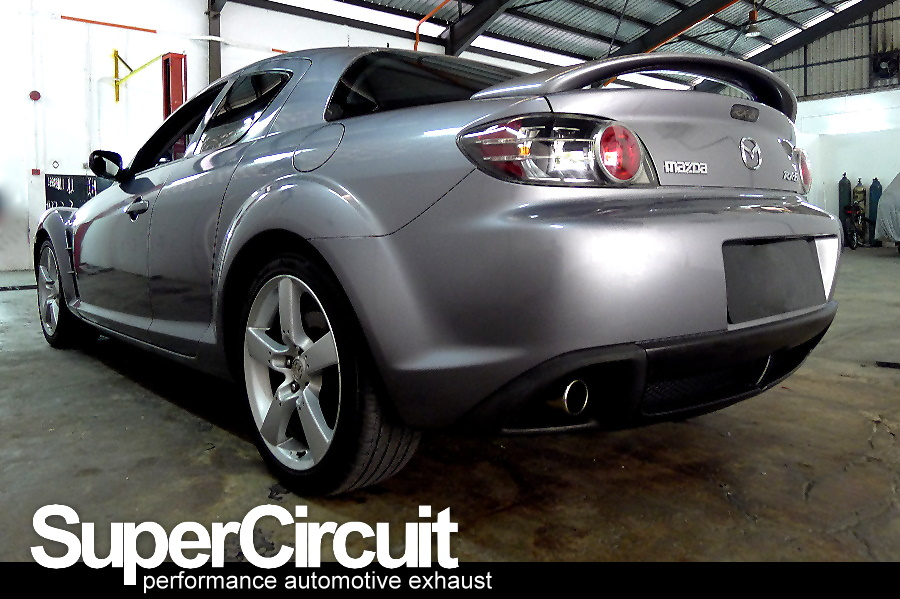 Supercircuit Exhaust Pro Shop Mazda Rx 8 Cat Pipe