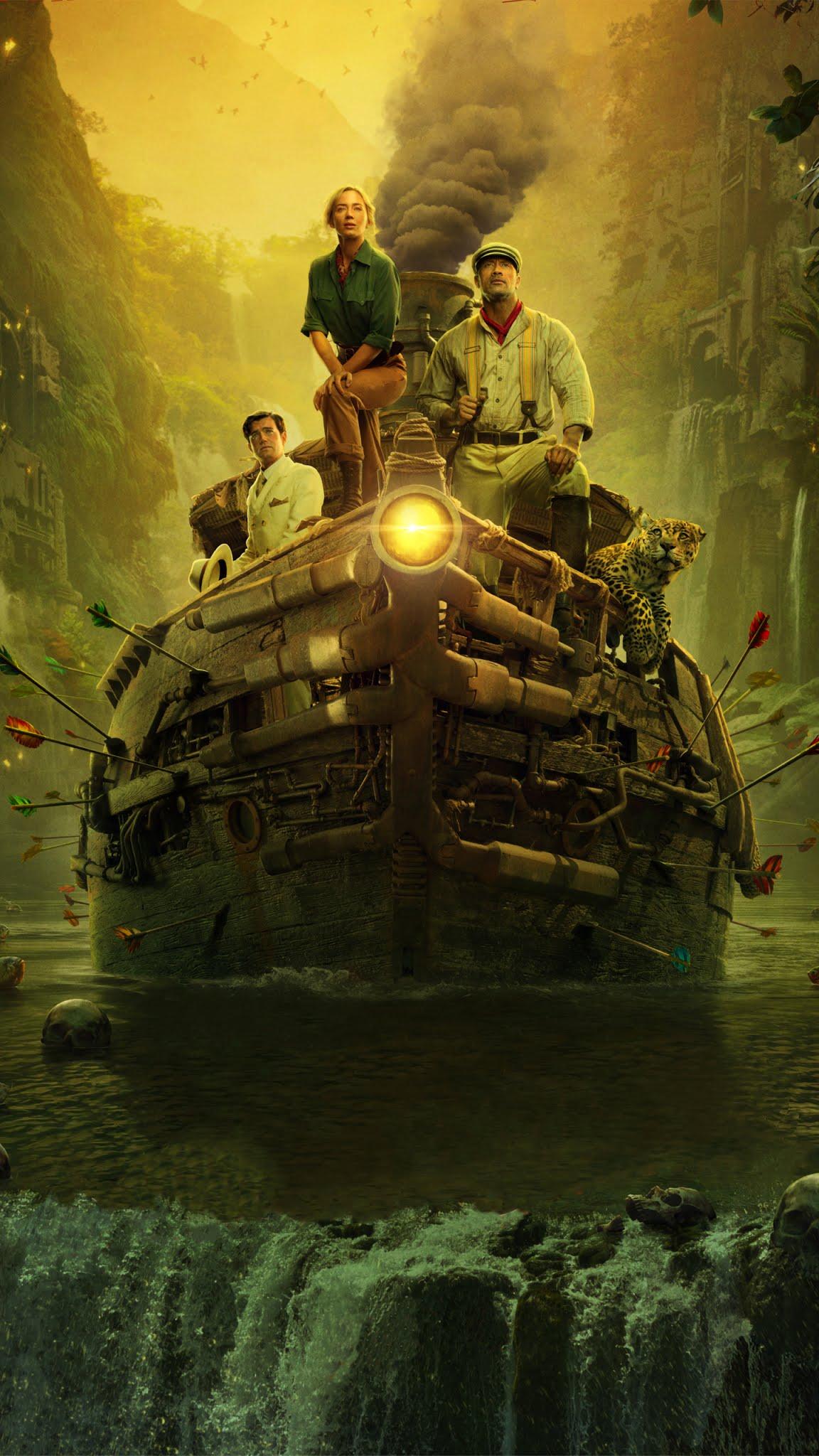 Jungle Cruise 2020 mobile wallpaper