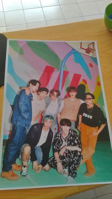Poster K-pop Bts