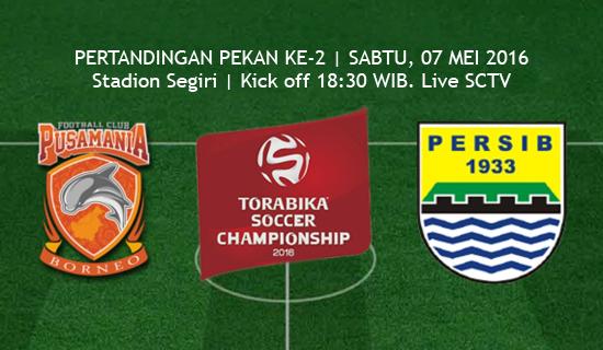 PBFC vs Persib TSC 2016