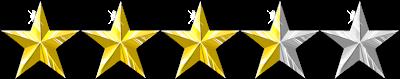 Image result for 3.5/5 stars