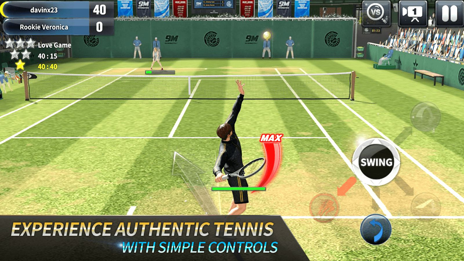 Ultimate Tennis Game