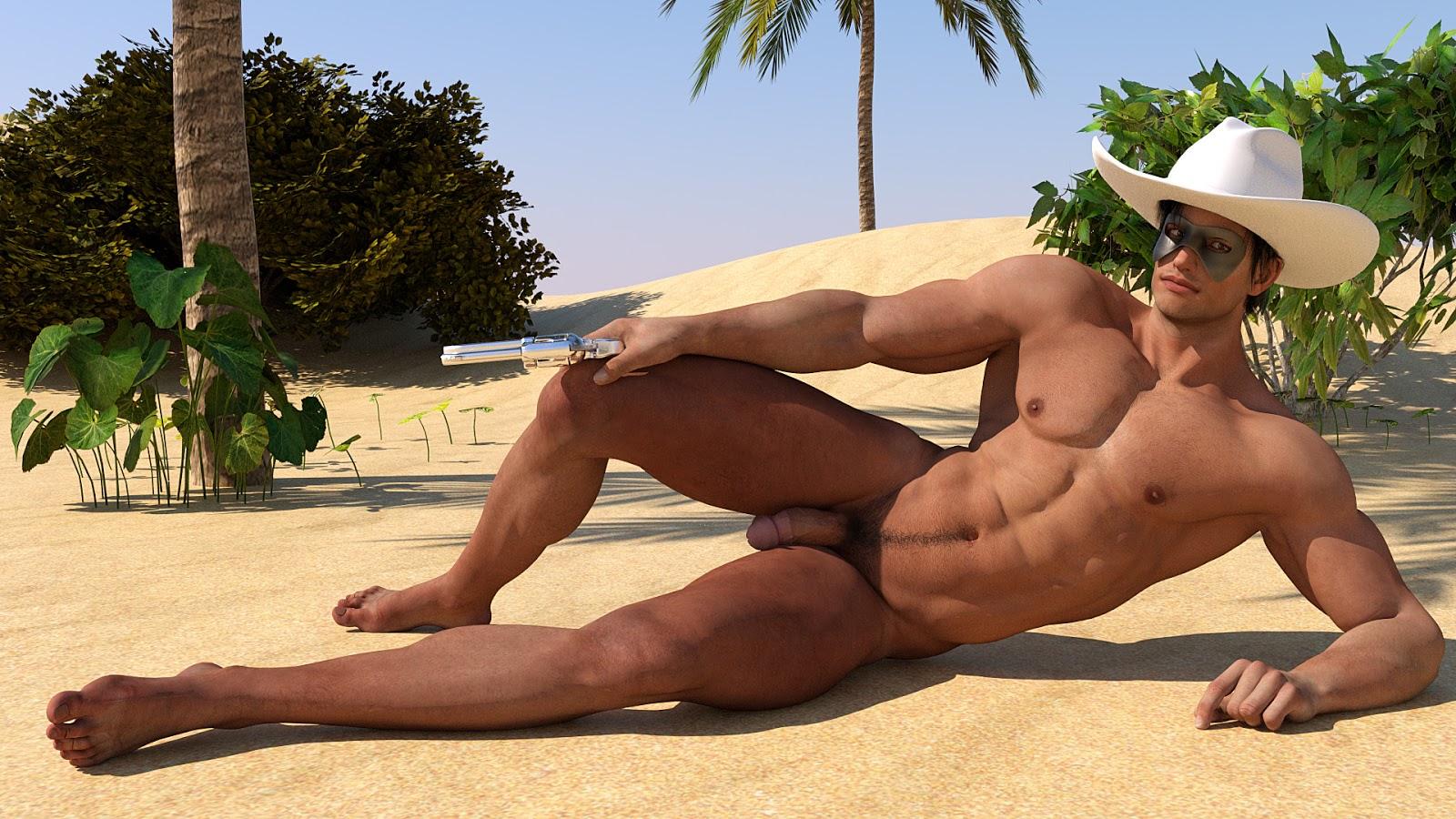 Naked Hunks Beach