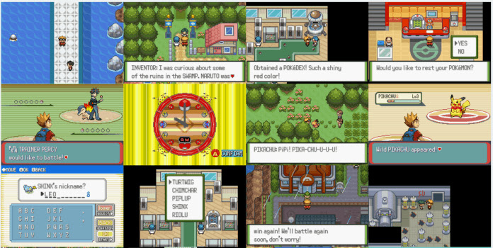 Pokemon Glazed Rom Screenshots