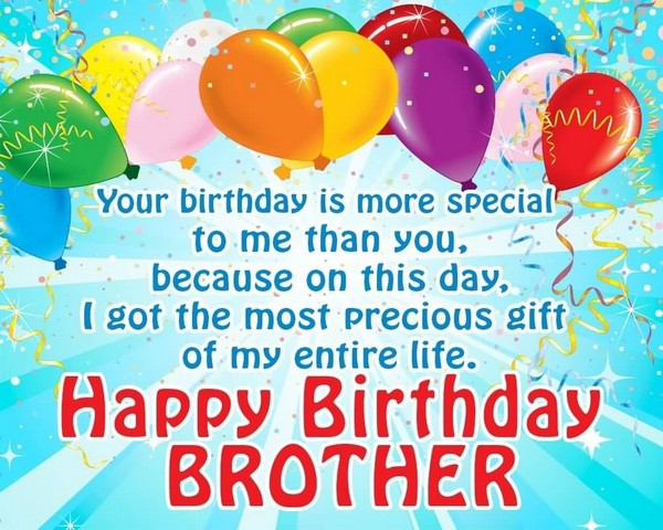 Birthday Wishes For Brother And Father