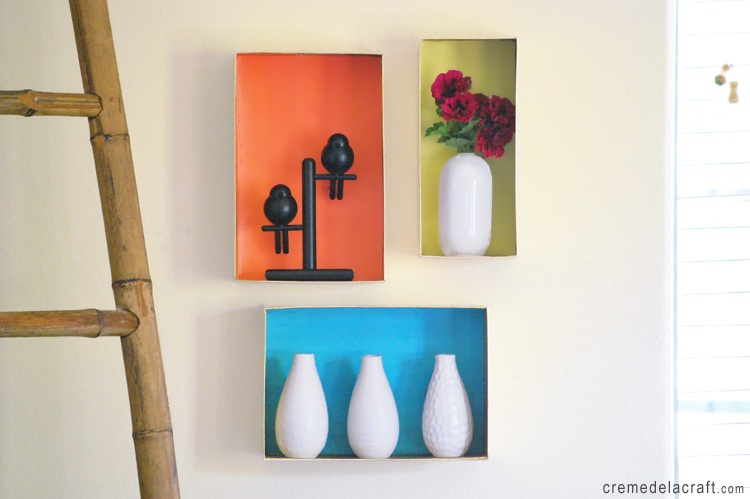 Awe Inspiring Diy Wall Shelves From A Shoebox Home Interior And Landscaping Dextoversignezvosmurscom