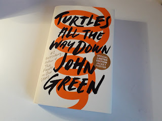 turtles all the way down review, book review, mental health books, book with character with ocd,