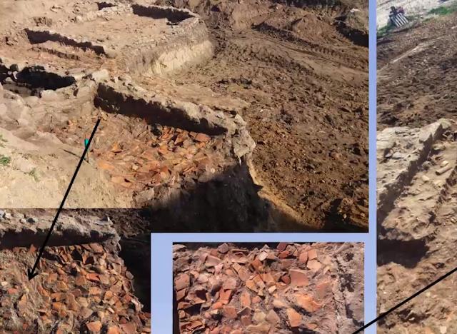 Ένα οικόπεδο στη Σάρτη Χαλκιδικής έκρυβε από κάτω θησαυρούς αιώνων