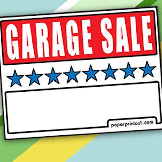 Free printable garage sale signs