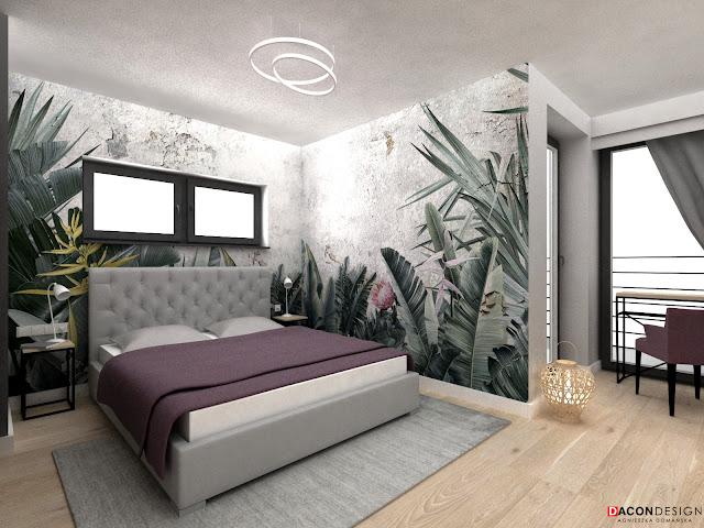 dacon-design-architekt-wroclaw-wnetrza-projekty-aranzacja-sypialnia-tapeta-wonderwall-paradise