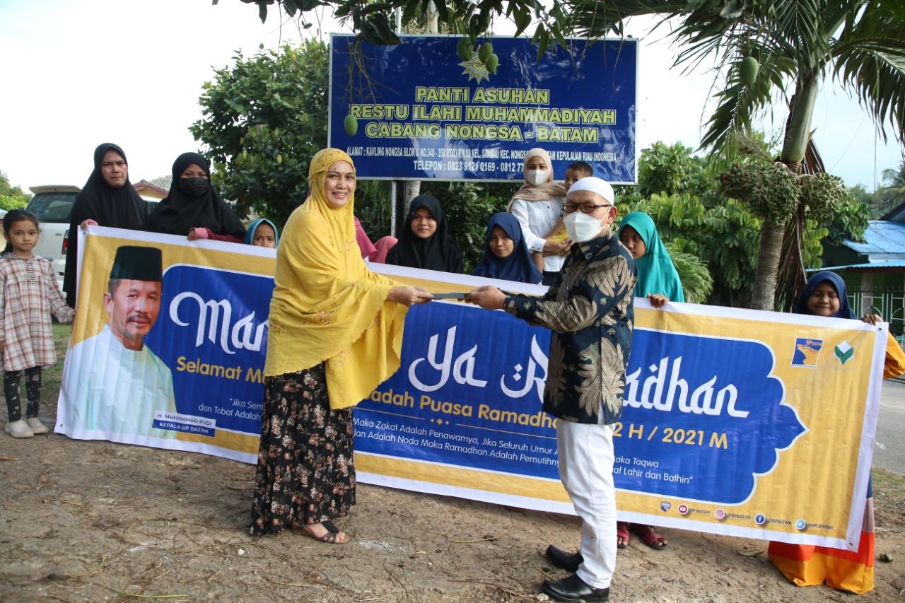 Sambut Bulan Ramadhan, BP Batam Memberikan Santunan dan Paket Buka Puasa Ke Panti Asuhan
