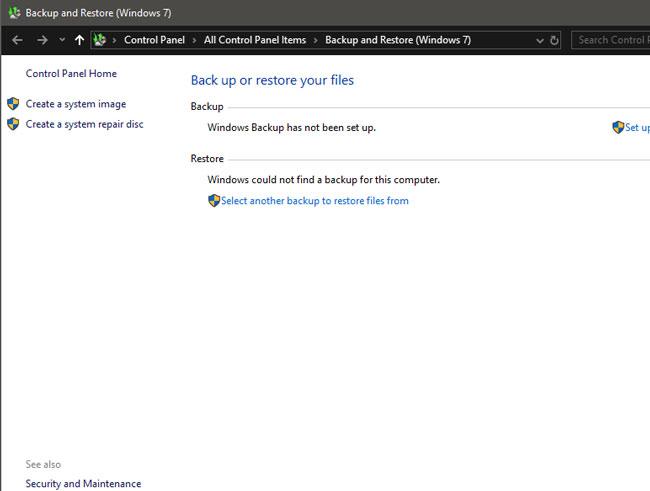 استعادة الملفات المحذوفة Windows 10
