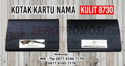 Kotak Kartu Nama Kulit 8730, Souvenir Promosi Tempat Kartu Nama Kulit, Leather Card Case, Name Card Holder, Dompet Kartu, Business Card Holder, Kotak Kartu Nama Magnetic