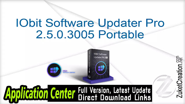 IObit Software Updater Pro 2.5.0.3005 Portable