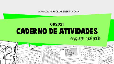 CADERNO DE ATIVIDADES 01/2021: ENSINO REMOTO