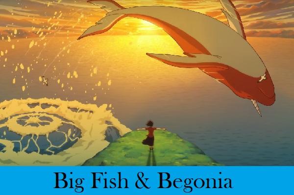 """""""Big Fish & Begonia"""" Chinese anime"""